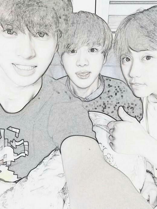 Кен с друзьями
