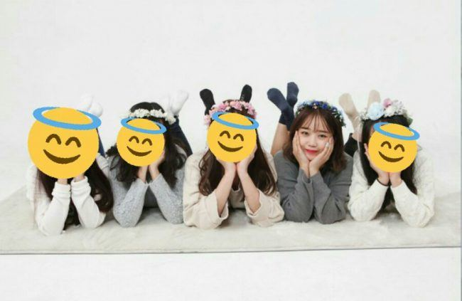 IOI'S Choi Yoojung & friends