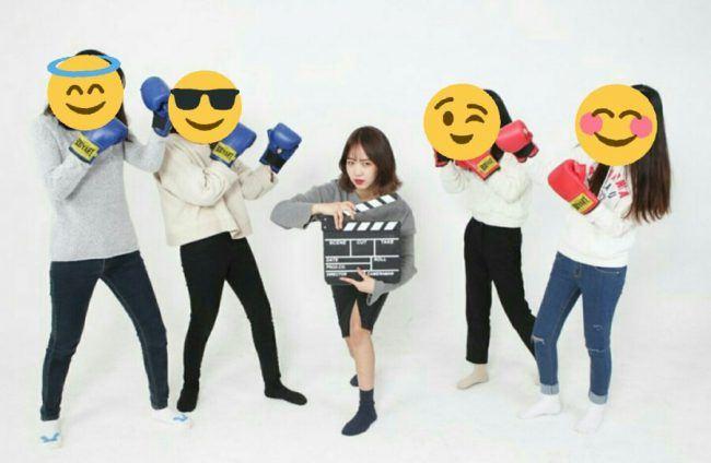 IOI'S Choi Yoojung & friends