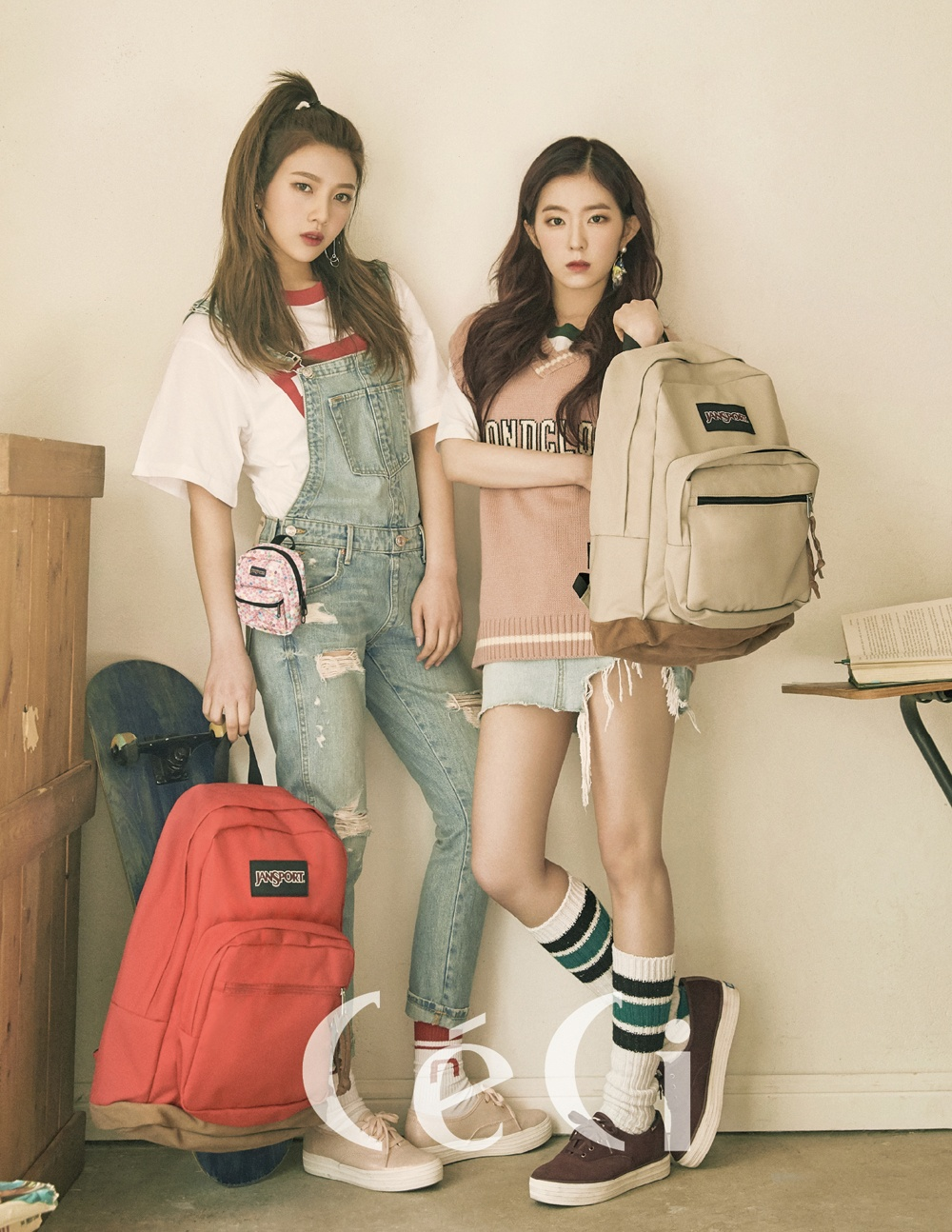 Red Velvet S Irene And Joy Drops Jaws For Ceci Korea Photoshoot