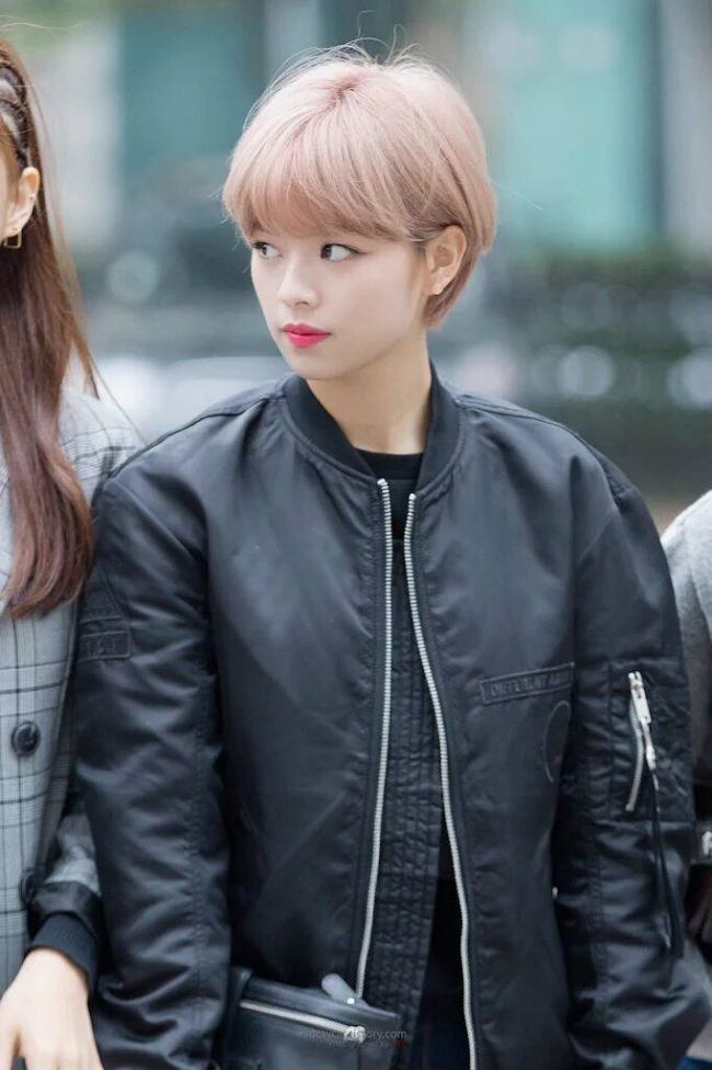 Twice S Jeongyeon Makes Fans Fall In Love With Sudden Hair