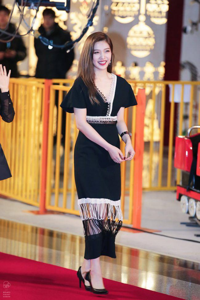 Joy on the red carpet