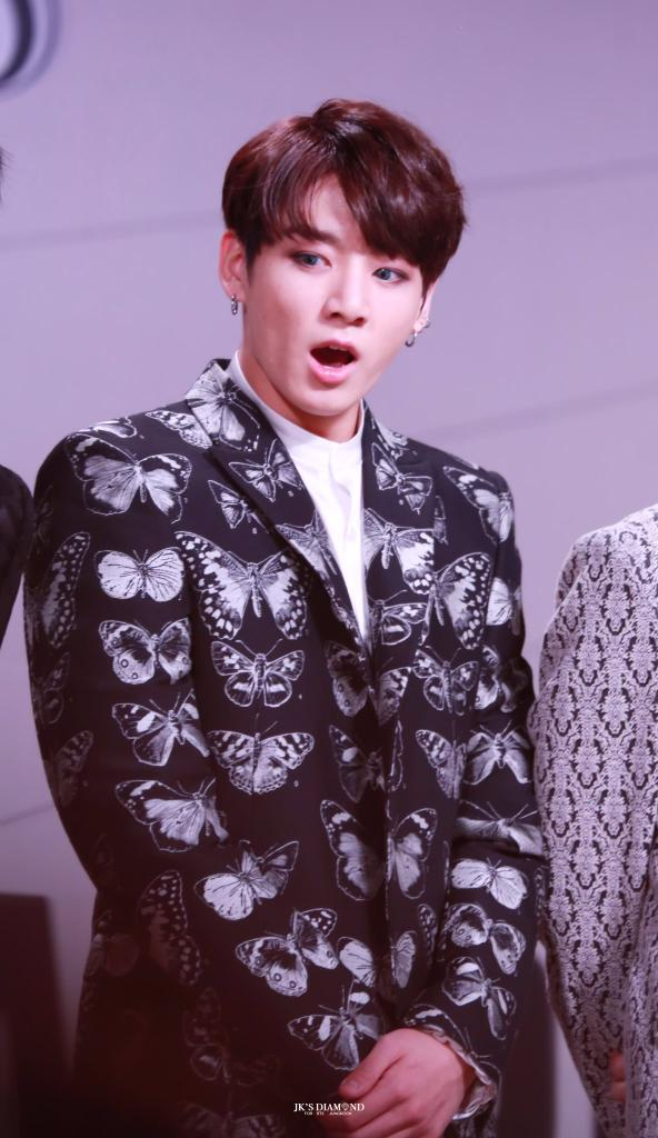 Jungkook's funny expression