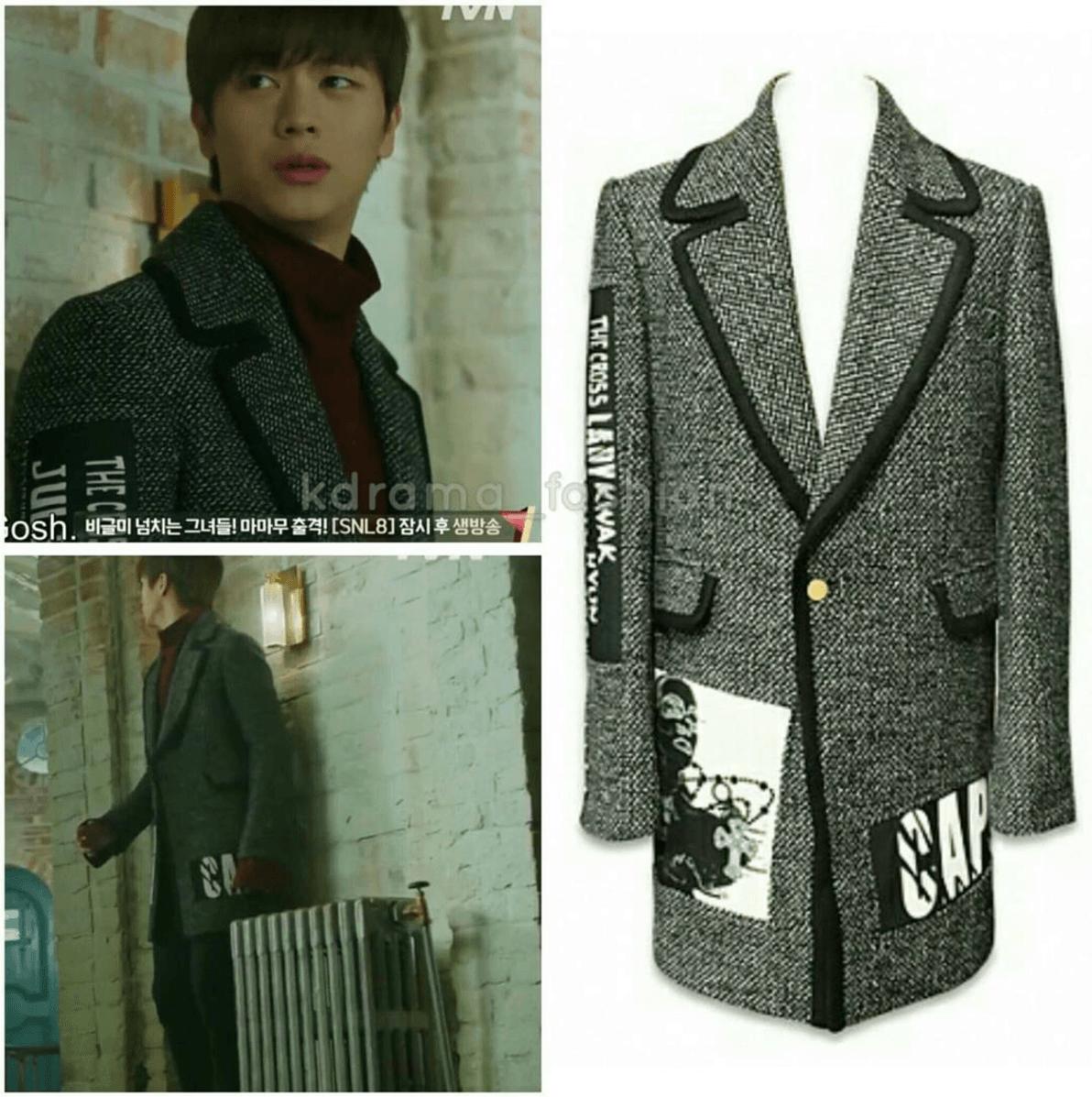 kwakhyunjoo-16fw-black-tweed-long-jacket