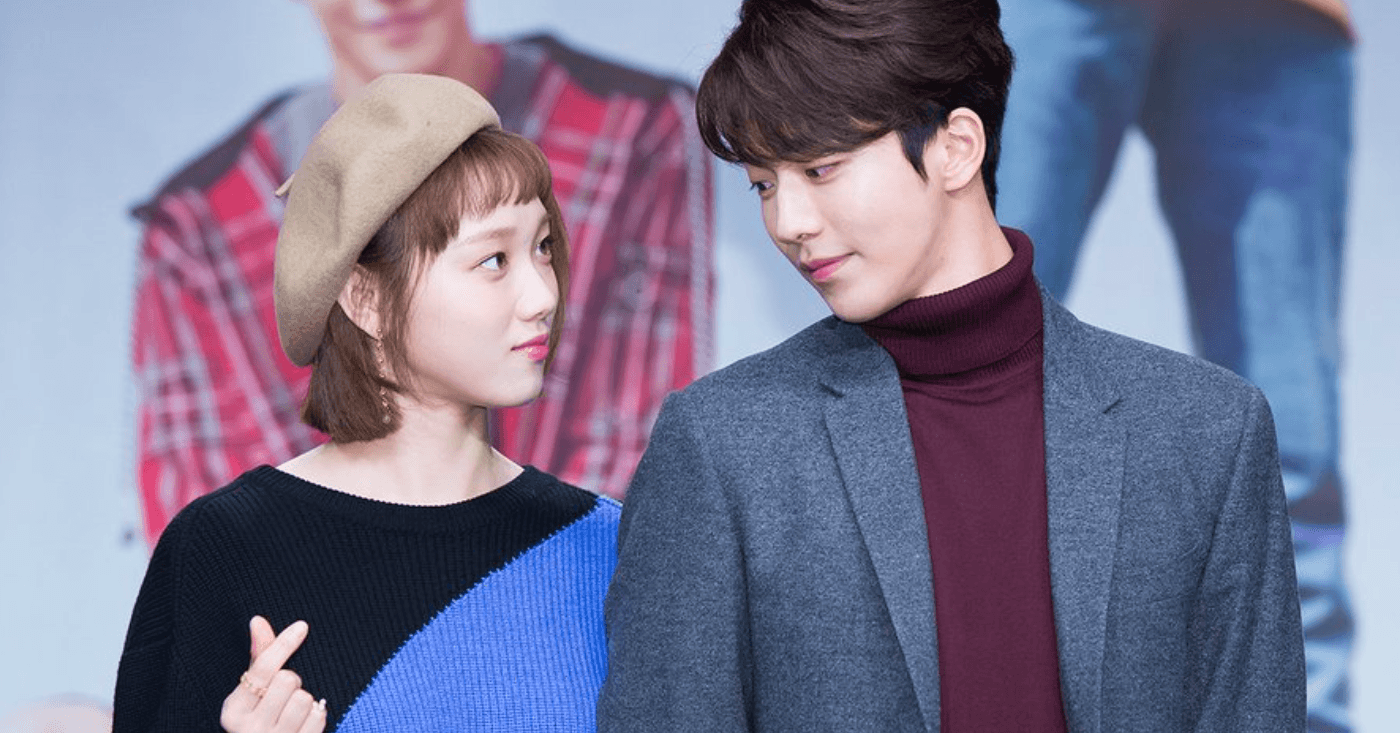 This may have been the moment Lee Sung Kyung and Nam Joo Hyuk fell in love on camera