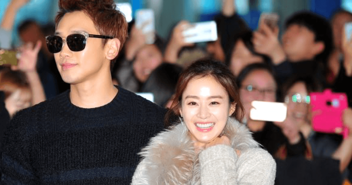 rain kim tae hee spotted dating Korean superstars kim tae hee and rain (jung ji hoon) tied the knot in a low- key private ceremony in january this year after five years of dating the actress later announced in may that she was 15 weeks pregnant and is currently taking a hiatus from showbiz she was spotted yesterday on a flight to italy.