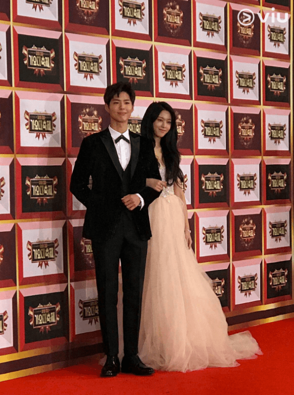Seolhyun and Park Bo Gum