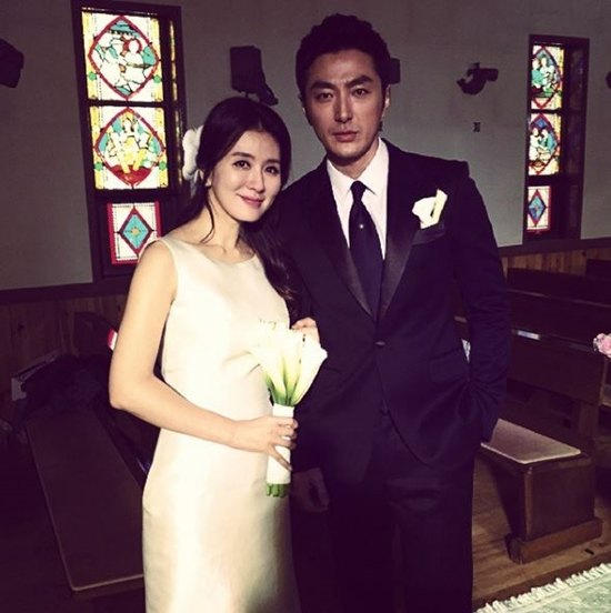 Tae Joon and his wife