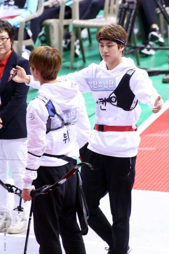 V and Jin at ISAC