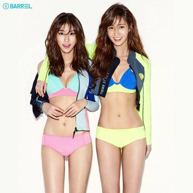 Vivian Cha and Yuri