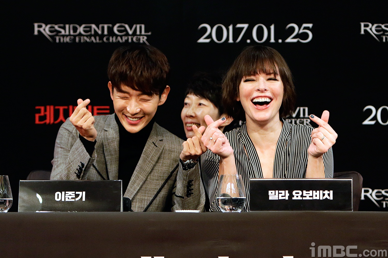 Lee Joon Gi Milla Jovovich