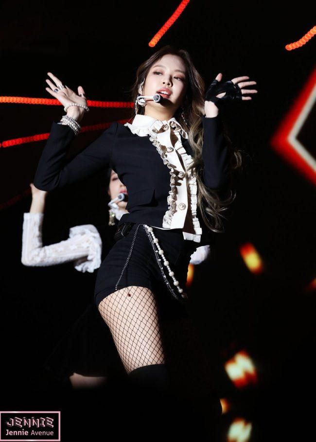 Jennie at the Gayo Daejeon