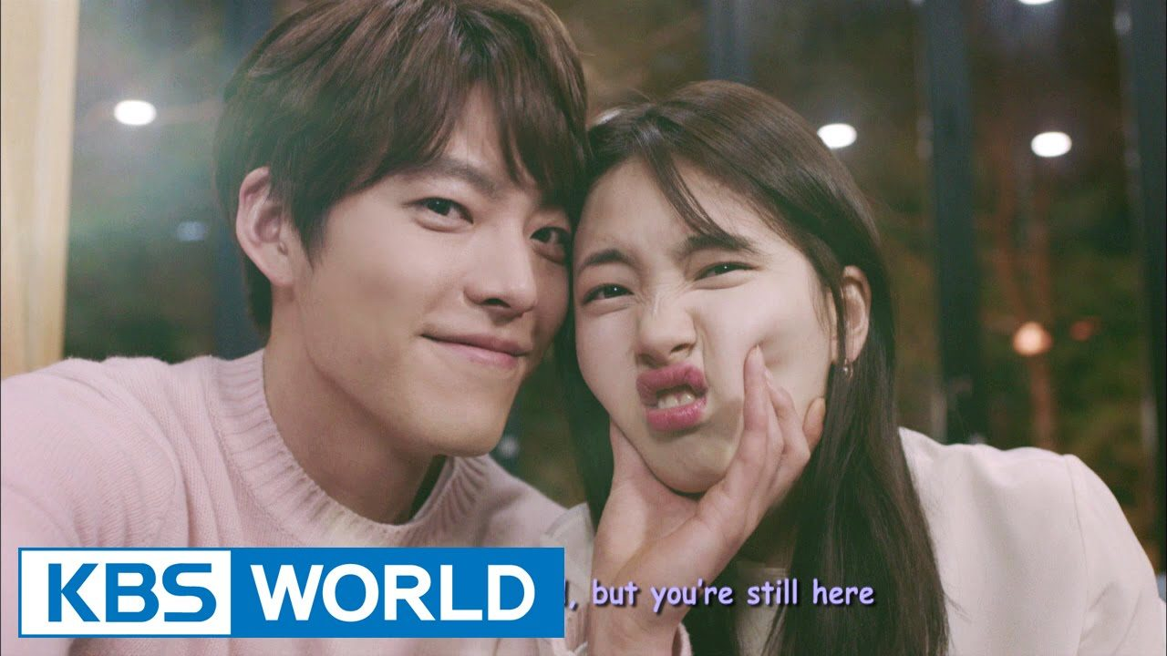 Iconic leading man Kim Woo Bin can't help himself over Bae Suzy's cute cut.