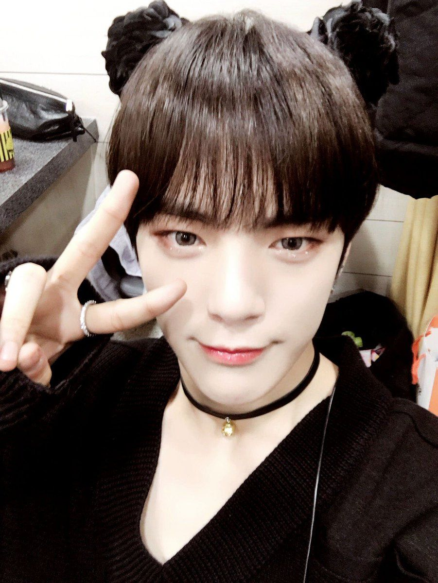 Monsta Xs Minhyuk Shows That This Hairstyle Is Not Just For Girls