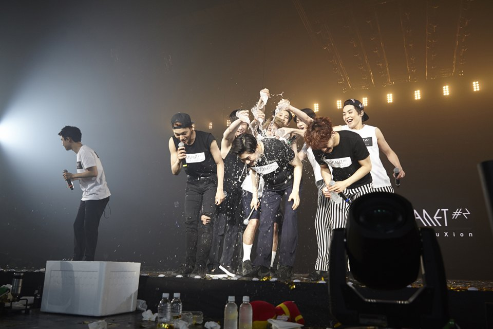 Pulling pranks on each other is a must during live shows! / Source: One Hallyu