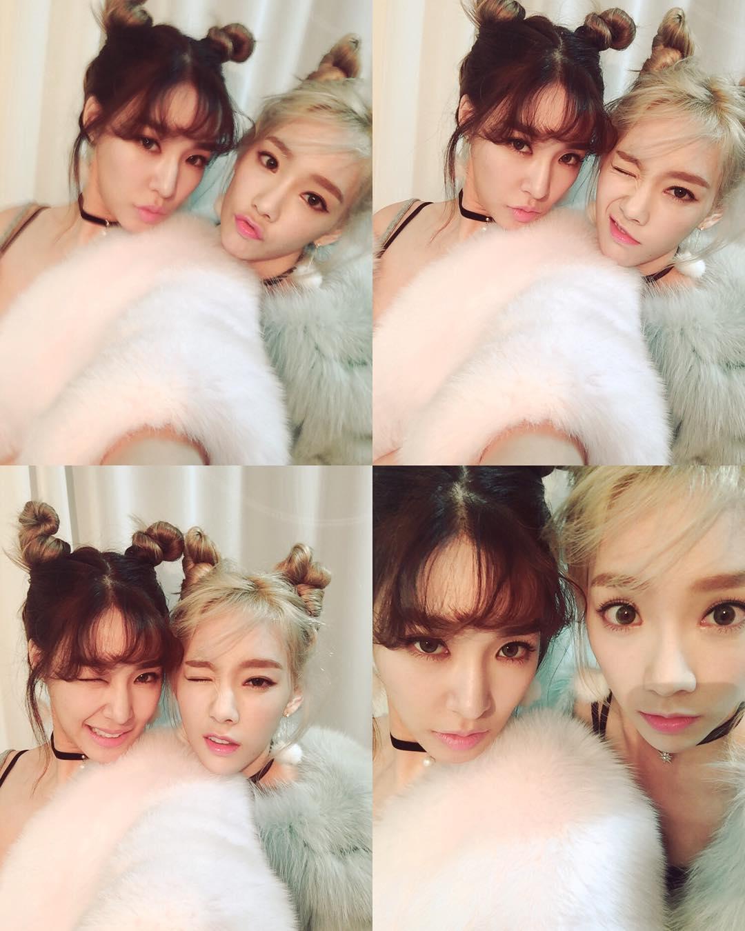 Tiffany, Taeyeon - Girls Generation
