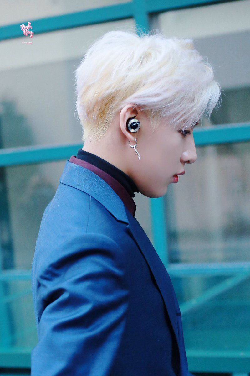 BamBam's platinum blond look will leave you a little breathless.