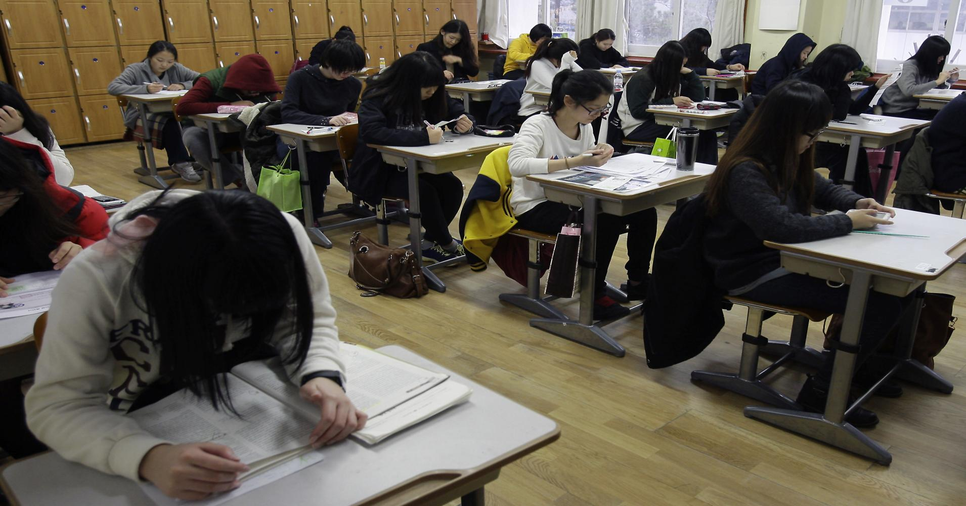 The English Part of the Korean SAT Is So Hard Even Ivy League Graduates Can Barely Pass