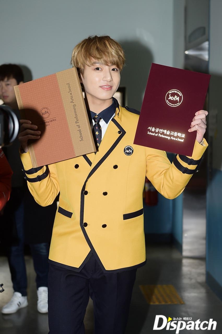 DISPATCH follows BTS Around on Jungkook's Graduation and