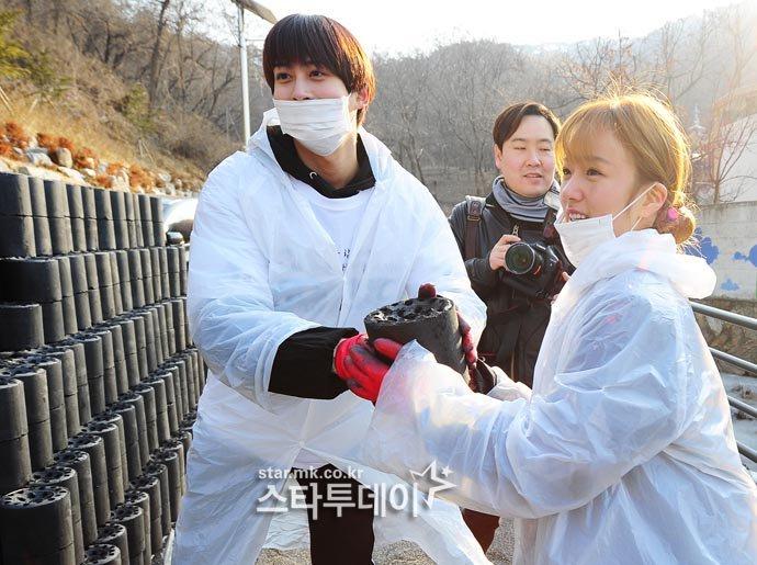 Bomi and Jaehyo