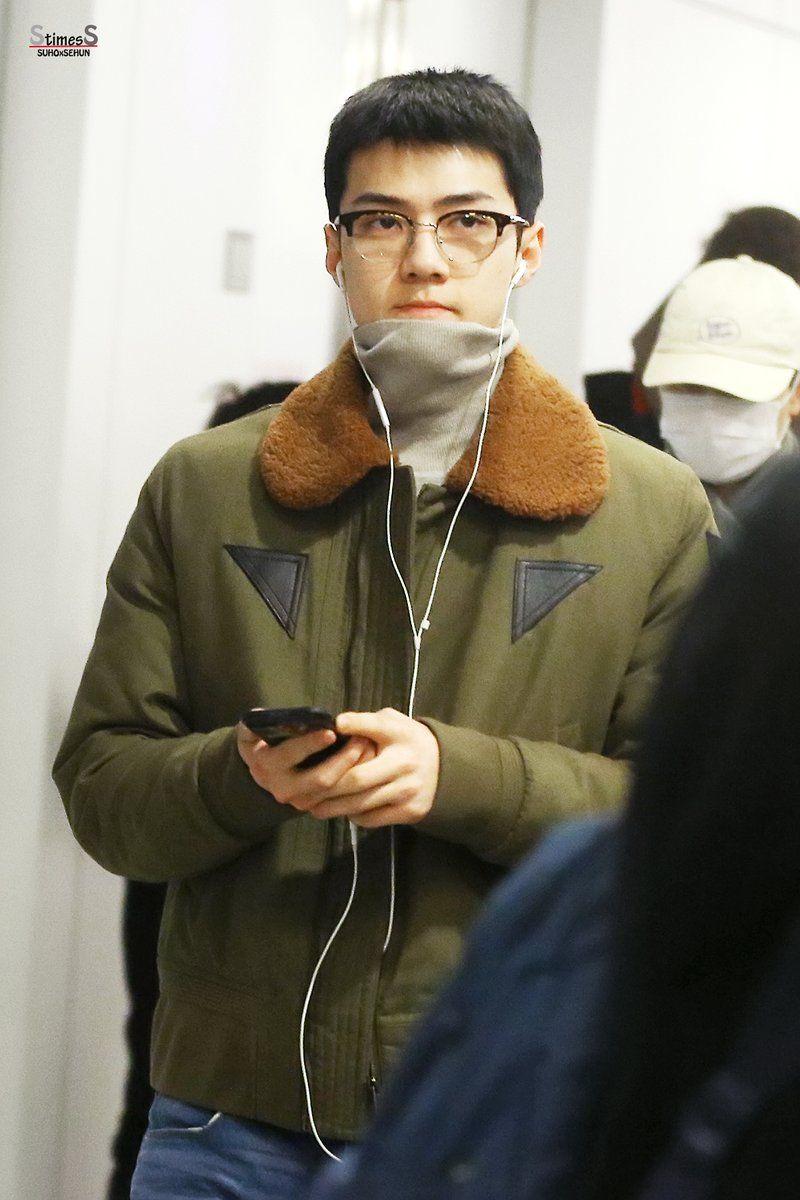 Exo Sehun S New Short Haircut Makes Him Even Dreamier