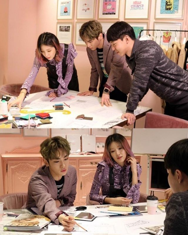 KEY, Irene, and Kang Yo Han