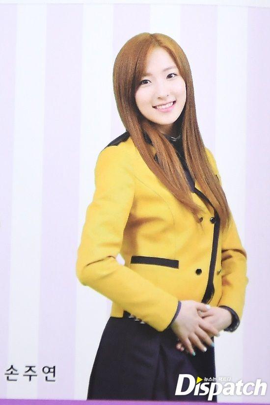 Eunseo's high school graduation photo.
