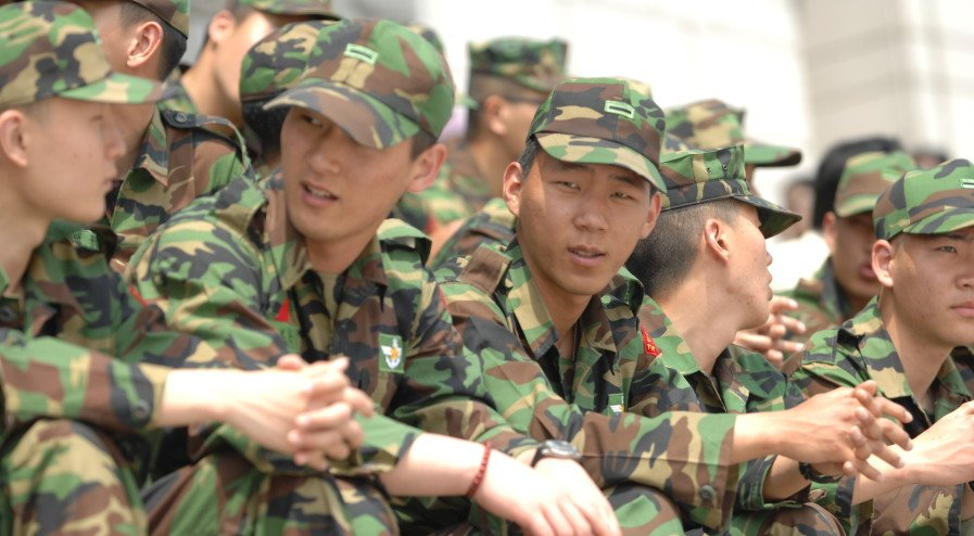 Korean Men Military