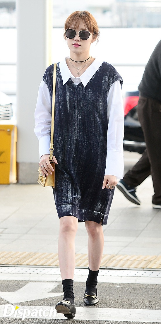 Lee Sung Kyung S Airport Fashion Is Proof Of Her