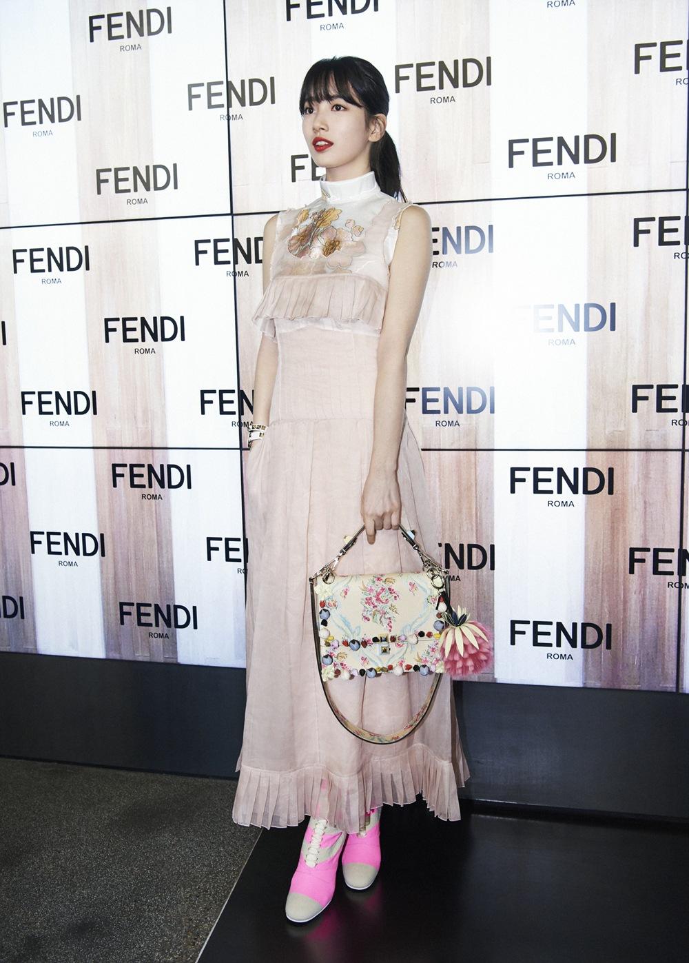 Suzy at Milan Fashion week