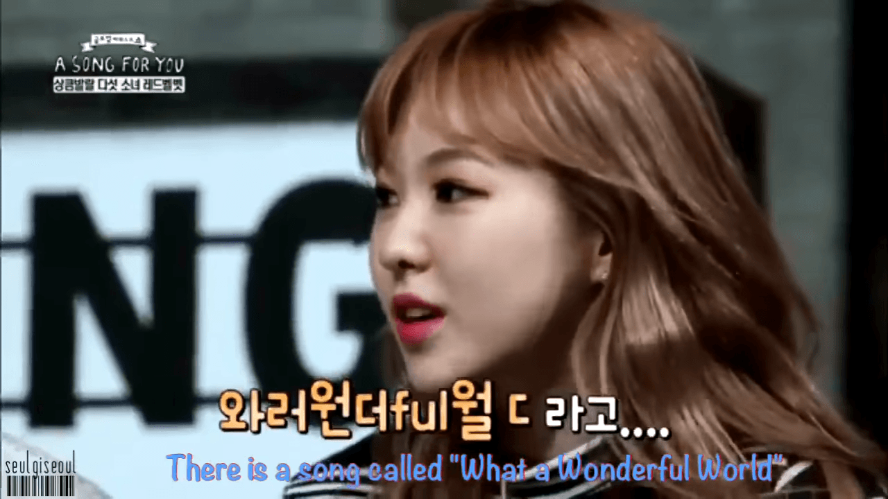 Wendy Speaks in English