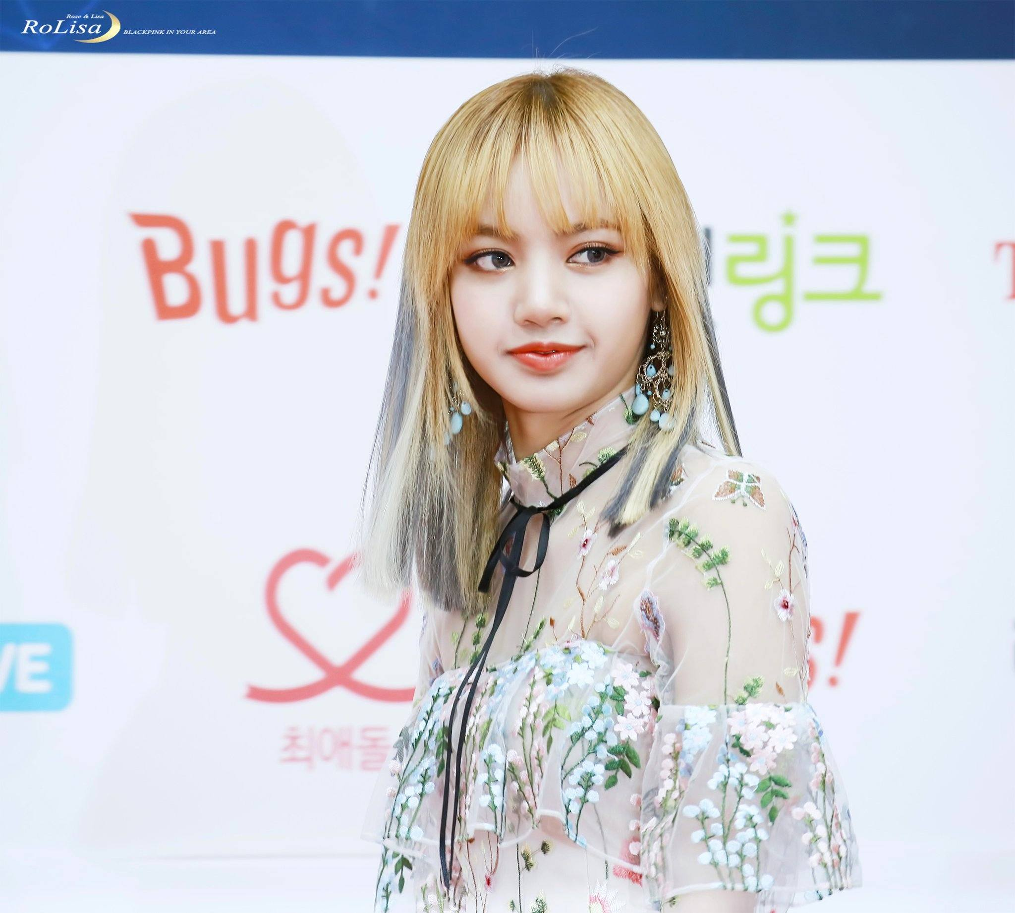 Blackpink Lisa Shocks Reporters With Sexy See Through Dress Koreaboo