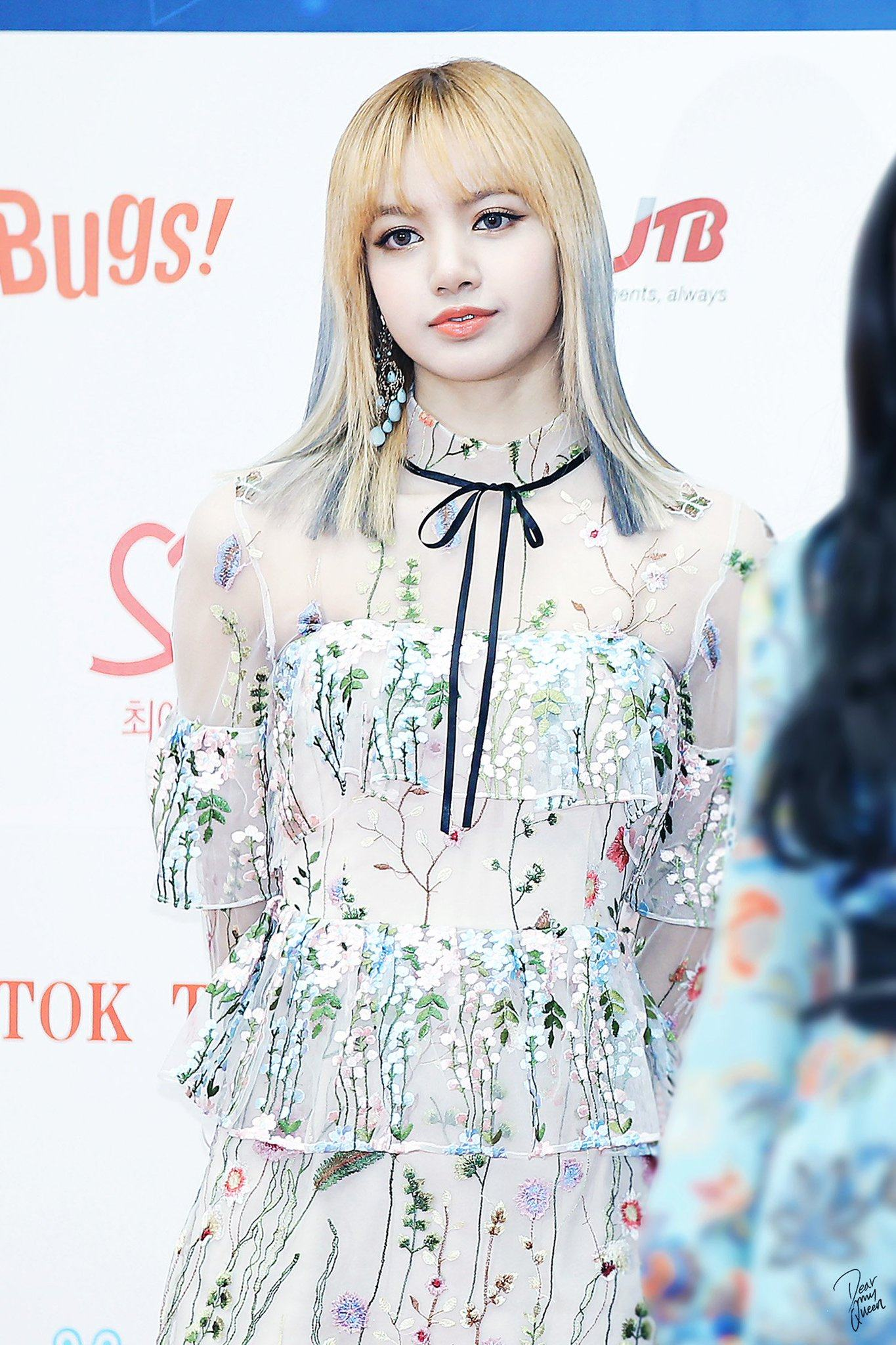 Blackpink Lisa Shocks Reporters With Sexy See Through