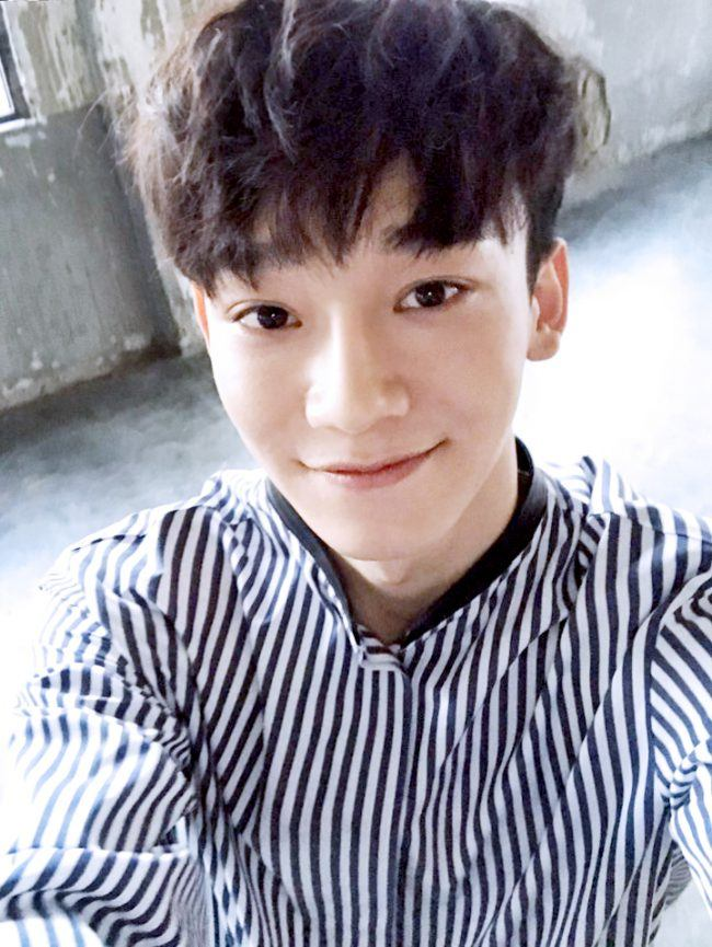 Exo Chen Hair Pictures To Pin On Pinterest Pinsdaddy