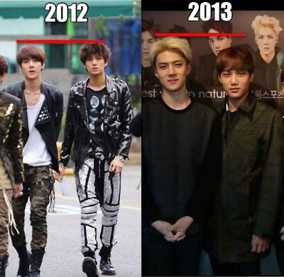 These 10 Pictures Show EXO Sehun's Astonishing Transformation From