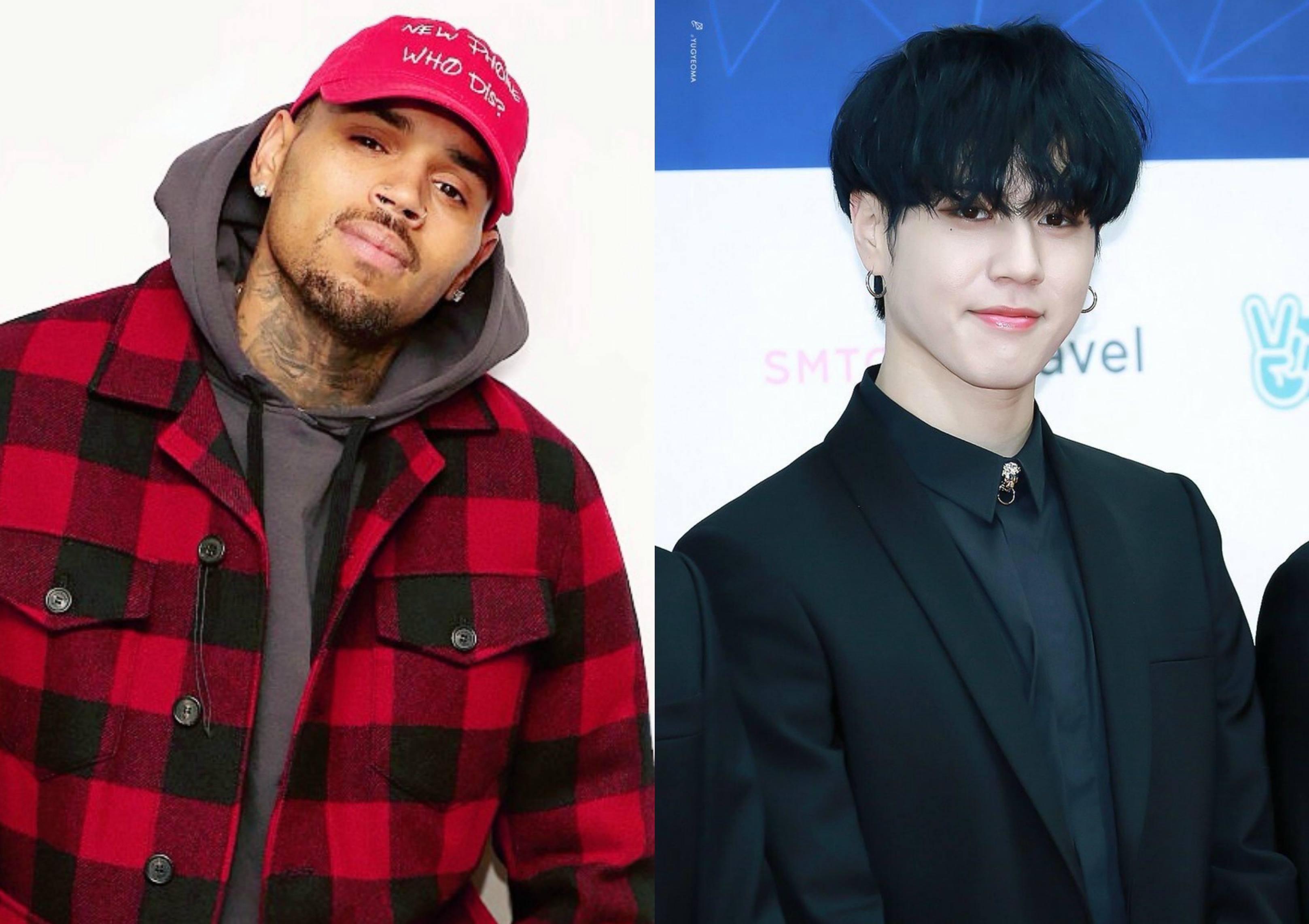 Chris Brown Follows GOT7's Yugyeom On Instagram — Koreaboo