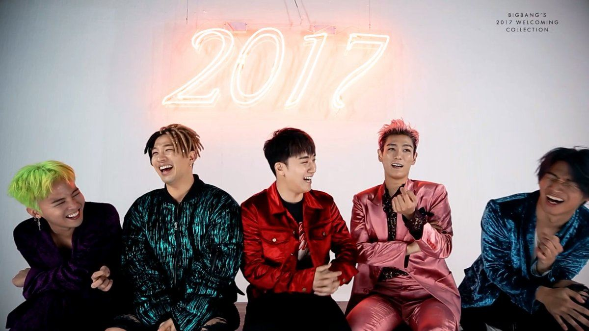 The Official Bigbang 빅뱅 Thread Thank You For Everything