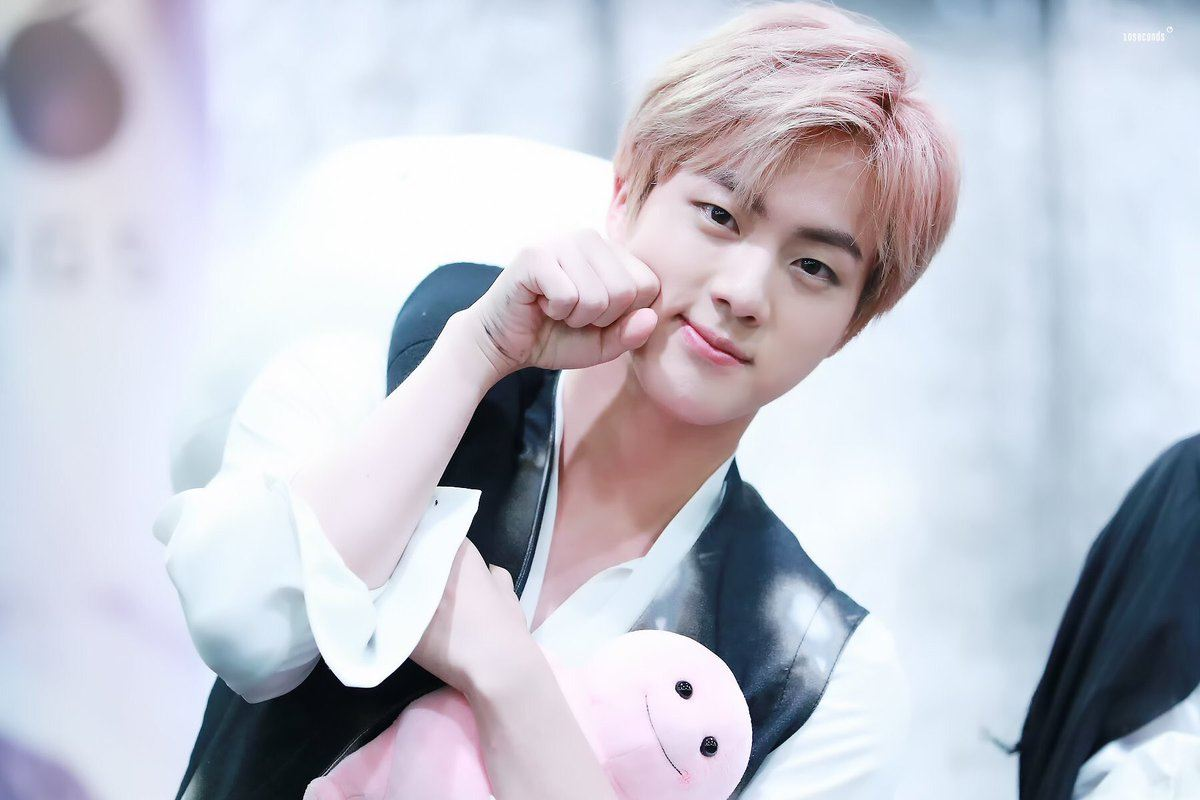 Jin of bts dating game 7