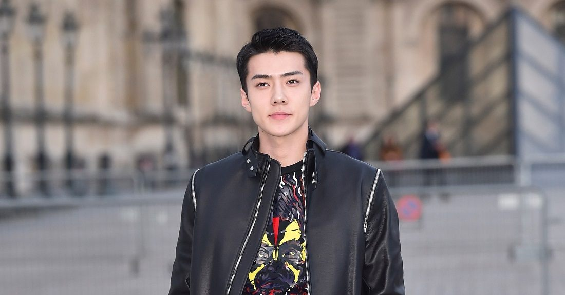 Seoul fashion week 2017 - Exo S Sehun Proves He Was Born To Be A Star With These