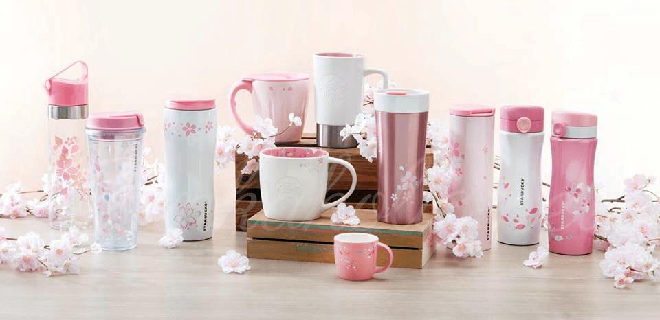 Starbucks Releases 2017 Japanese Sakura Mug Collection