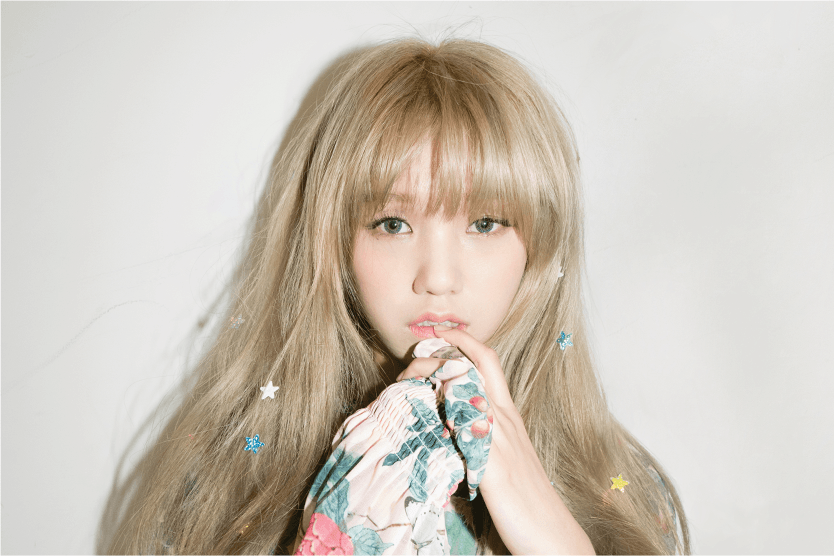 602f2d397002de Oh My Girl Mimi Finally Changed Her Signature Hair Color - Koreaboo