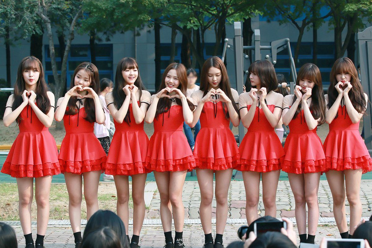 Proof That Oh My Girl Is The Most Popular Group Among Other Idols