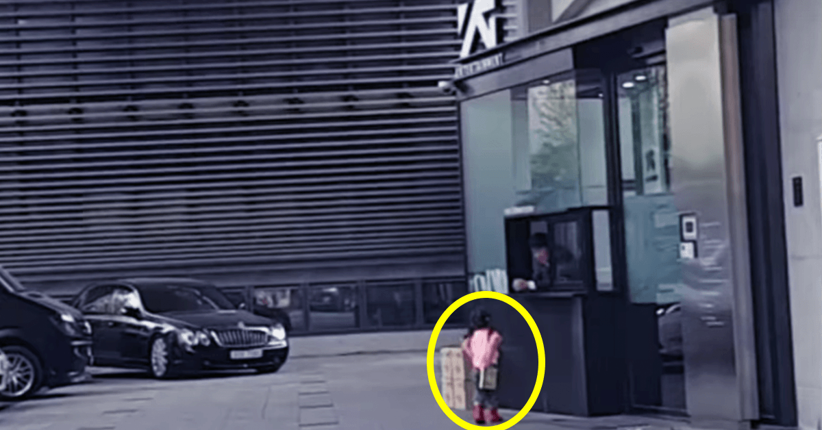 4 year old girl travels to YG Entertainment to see BIGBANG