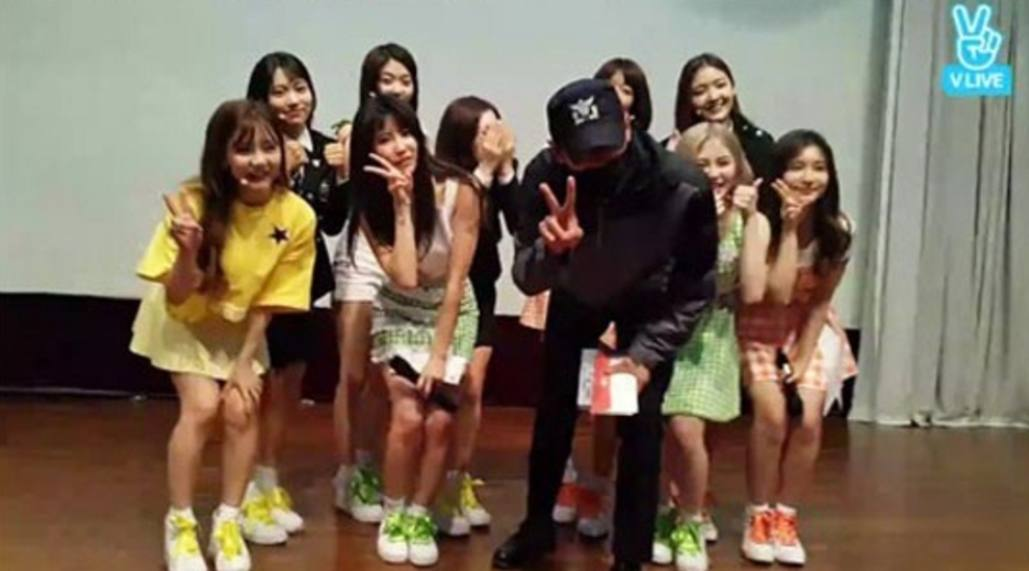 DIA hold surprise event for police, they were surprised by this K-Pop world star instead