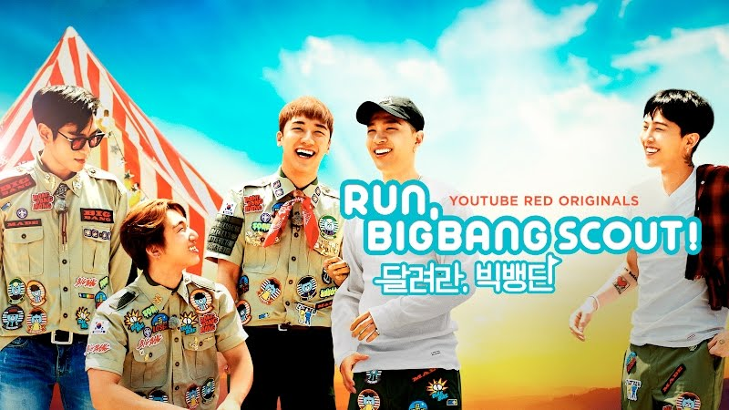 "BIGBANGs new series on Youtube Red ""Run BIGBANG Scout"""