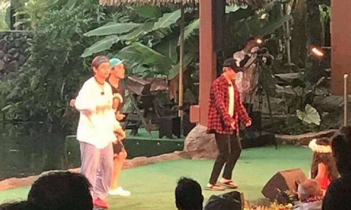 BTS Members Spotted Hula Dancing In Hawaii
