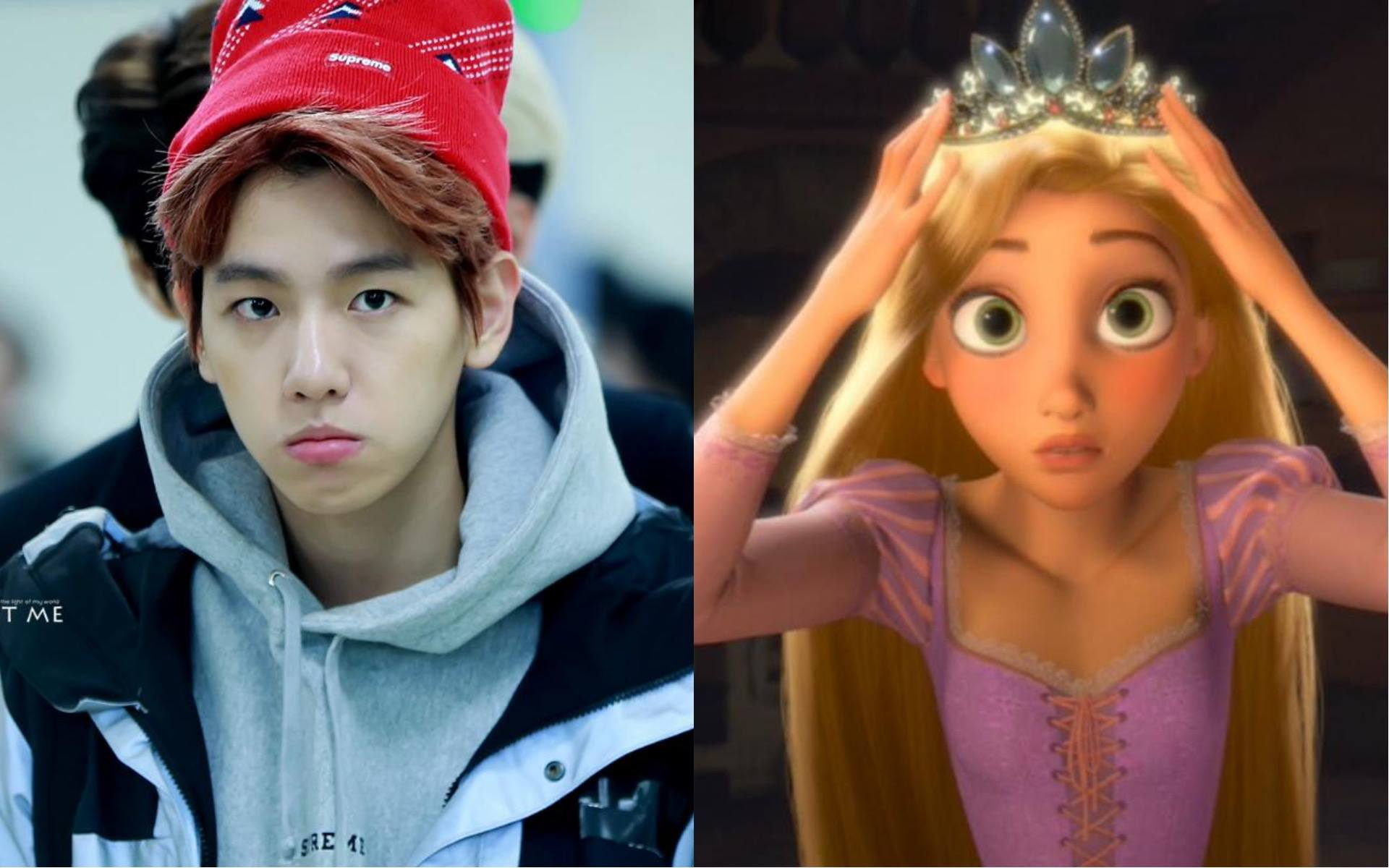 Fans noticed Baekhyun's lips look exactly like this Disney character