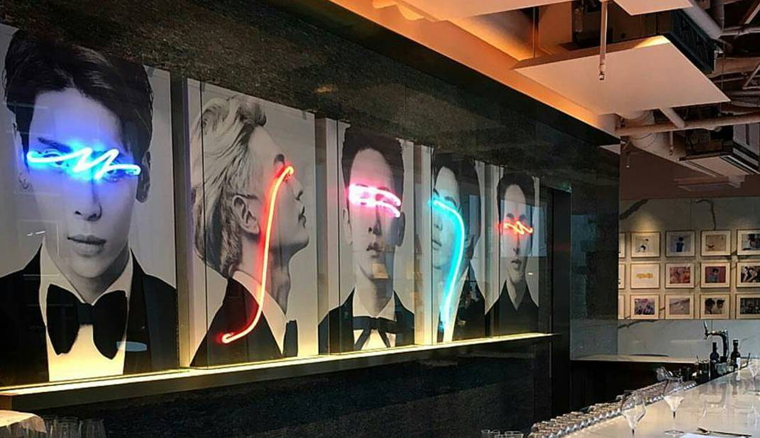 An Artist Has Created Neon Light Portraits of SHINee