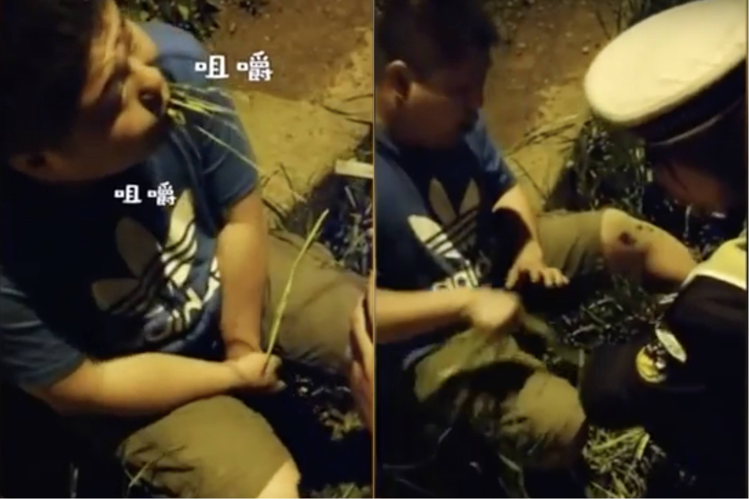 Drunk Chinese Driver Tries to Escape Breathalizer by Eating Grass, Fails Miserably