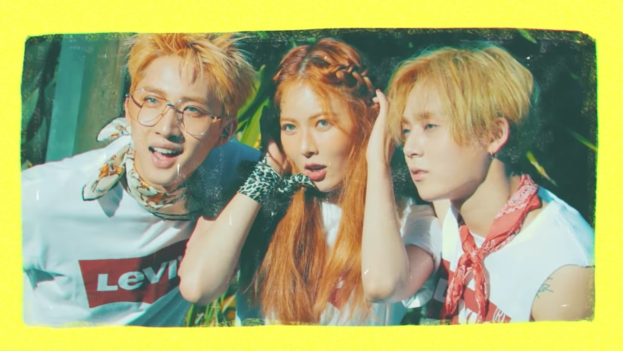 Triple Hs EDawn and Hui Talk About Why Hyuna Is A Fun but Scary Senior